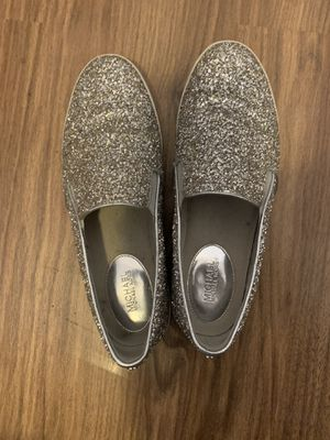 Michael Kores silver sequins sneaker/loader for Sale in Chicago, IL
