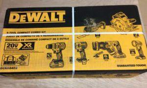 NEW DEWALT XR 6 TOOL COMBO KIT for Sale in Phoenix, AZ
