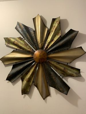 Beautiful metal wall decor for Sale in Frederick, MD