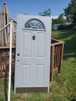 Steel door very nice condition for Sale in Silver Spring, MD