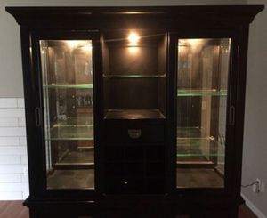 Lighted China Hutch for Sale in Clarksburg, MD
