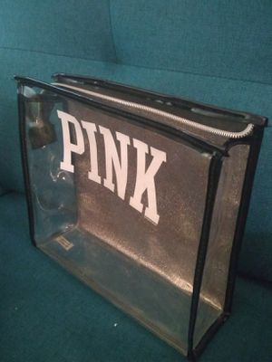 large victoria's secret PINK cosmetic bag for Sale in Castle Dale, UT