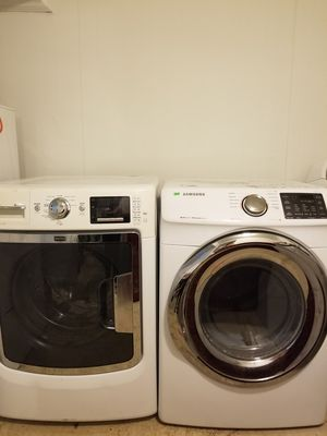 Maytag maxima washer and samsung dryer for Sale in Nashville, TN
