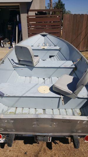 Gregor 14' aluminum fishing boat for Sale in San Diego, CA
