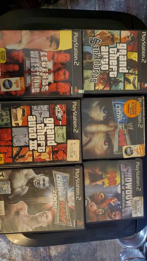 7 Ps2 games for Sale in Piedmont, SC