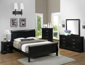 5 PCS QUEEN BEDROOM SET IN DIFFERENT COLORS ALL NEW IN BOX for Sale in Austin, TX
