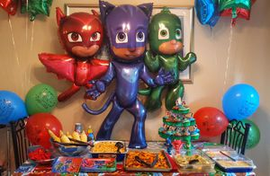 Pj masks party decorations for Sale in Seattle, WA