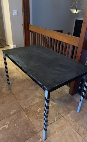 IKEA Kid's craft table with 4 chairs for Sale in Sandy, UT