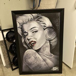 Marilyn Monroe James Danger Framed Poster Art for Sale in San Marcos, CA