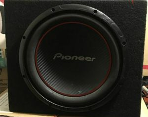 12 in pioneer sub open box for Sale in New Haven, CT