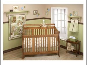 10 pieces crib bedding set for Sale in Duluth, GA