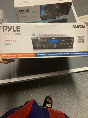Pyle home theatre amplifier for Sale in Sanford, FL