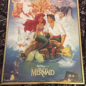 Vintage Little Mermaid Poster for Sale in Norfolk, VA