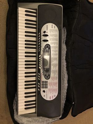 Casio Keyboard (free bag) for Sale in NJ, US