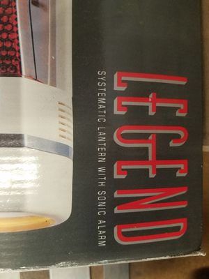 Systematic lantern with Sonic alarm for Sale in US