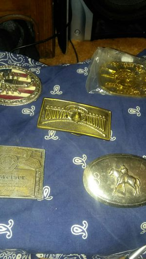 Misc. Belt buckles. for Sale in Sterling, KS