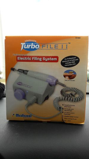 medicools's Turbo File ii professional electric filing system for Sale in Austin, TX