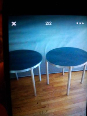 TWO VERY NICE ROUND TABLES for SALE for Sale in Bellevue, WA