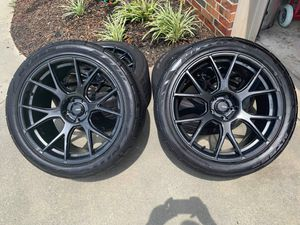 """20"""" Konig Ampliform on Nitto G2s staggered challenger/charger for Sale in Dallas, TX"""