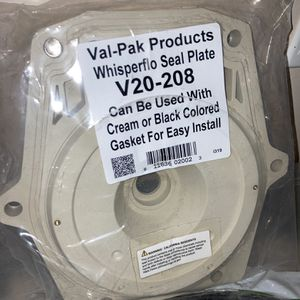 Whisperflo Seal Plate (New/sealed) for Sale in Arlington, TX