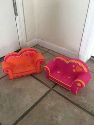 Lalaloopsy doll couches for Sale in Scottsdale, AZ
