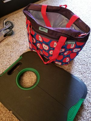Korn hole toss and igloo cooler bag for Sale in Aurora, CO