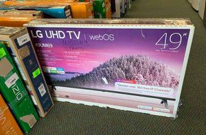 "NEW OPEN BOX LG UHD TV 49"" 2W for Sale in Georgetown, TX"