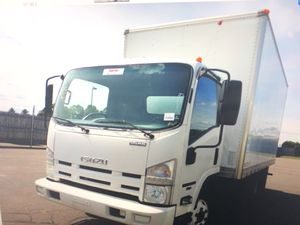 2009 Isuzu NPR Box Truck Automatic Gas engine for Sale in Bronx, NY