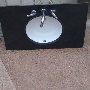 Sink With Granite Size 37×22 for Sale in Phoenix, AZ