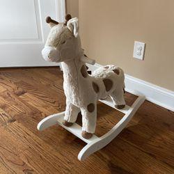 Giraffe Plush Nursery Rocker for Sale in Pequannock Township,  NJ