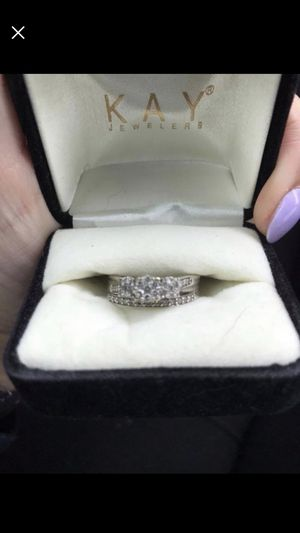 Wedding ring/earring/necklace set for Sale in Columbus, OH