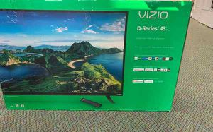 """Brand New 43"""" Vizio TV! Open Box w/ Warranty NBQSX for Sale in Arcadia, CA"""