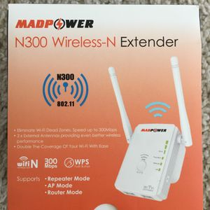 New wireless extender, cash only for Sale in Duncan, SC