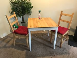Kitchen table and 2 chairs, IKEA for Sale in San Diego, CA