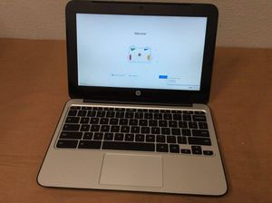 HP Chromebook Chromebook 4GB RAM 16GB webcam /Bluetooth/HDMIport/charger $ 129 firm price for Sale in Alexandria, VA