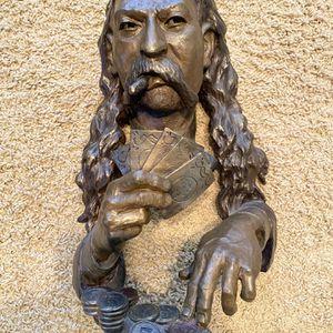 Bronze Statue Wild West Card Player for Sale in Gilbert, AZ