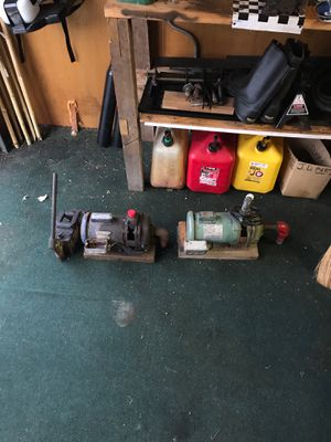 Pumps and hydraulic cutter for Sale in Minooka, IL