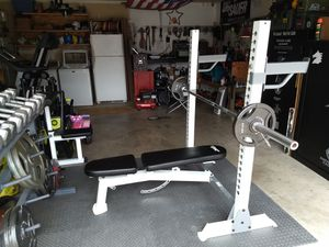 Bench Press, Weights, Bars, Weight Rack for Sale in Battle Ground, WA