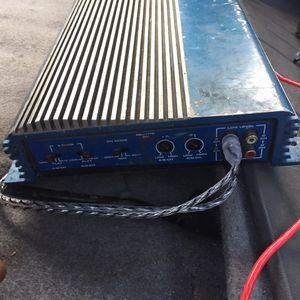 4 channel 1000 watt amplifier for Sale in Palmetto, FL