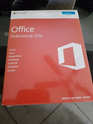 Ms office professional 2016 for Sale in Independence, MO