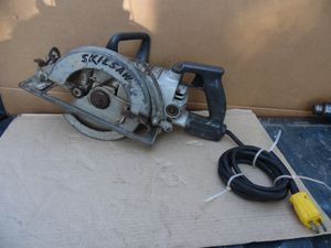 """Skilsaw Model 77 Professional 7 1/4"""" Worm Drive Circular Saw 13 Amp 4400 Rpm USA for Sale in Clifton Heights, PA"""