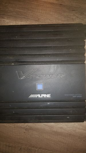 Alpine amplifier for Sale in Pittsburgh, PA