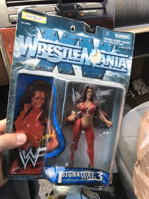 Vintage wwf Jacqueline action figure for Sale in Rutherfordton, NC