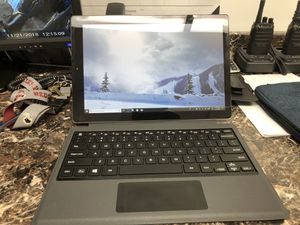 12.1 tablet computer with detachable keyboard for Sale in Fort Washington, MD