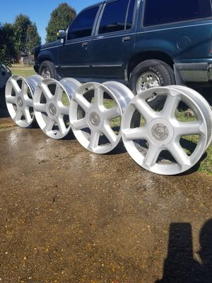 "(4) 17"" inch 2001Nissan Maxima Factory Rims- Used but in great condition!! for Sale in Indianola, MS"