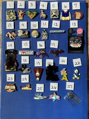 Disney pin pins collection for Sale in Portola Hills, CA
