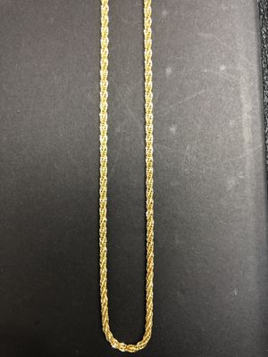 10K Italian Gold Triple Rope Chain for Sale in Pearland, TX
