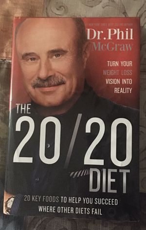 Dr. Phil 20/20 Diet Book for Sale in Oak Forest, IL