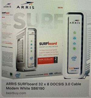 Arris Surfboard Cable Modem - SB6190 for Sale in Sanford, FL
