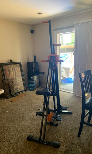 Wonder vertical climber exercise folding climbing machine with low impact warm up exercise bike for Sale in Concord, CA